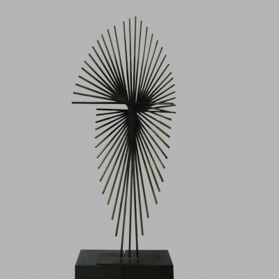 pubic stand iron sculpture for sale