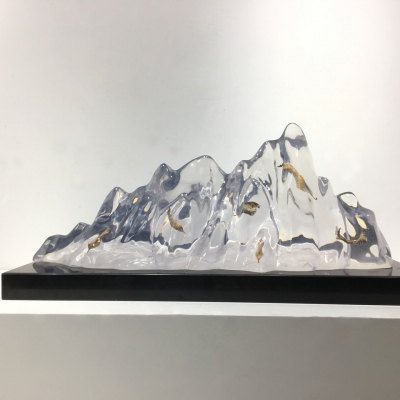 clear resin art decoration for sale