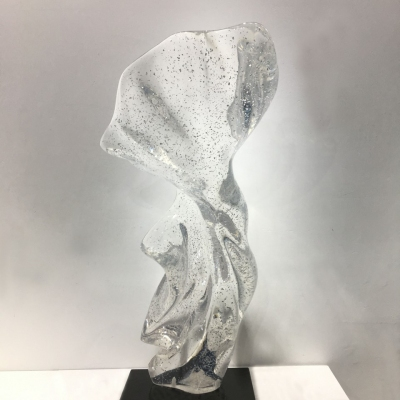 clear resin art decoration