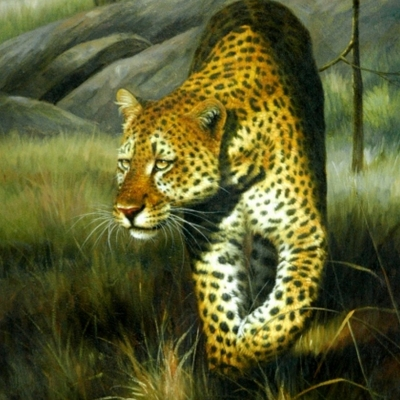Contemporary Animal Wall hanging Oil paintings