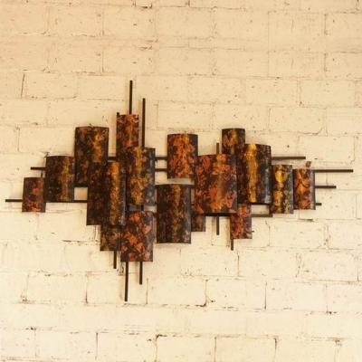 metal ancient wall art for five-star hotels
