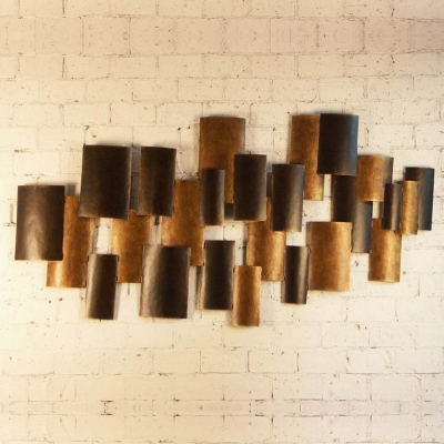 metal ancient wall art sculpture for five-star hotels