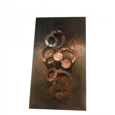 metal modern abstract wall art decoration